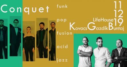 KGB (Kovacs – Gazdík – Buntaj) / Conquet